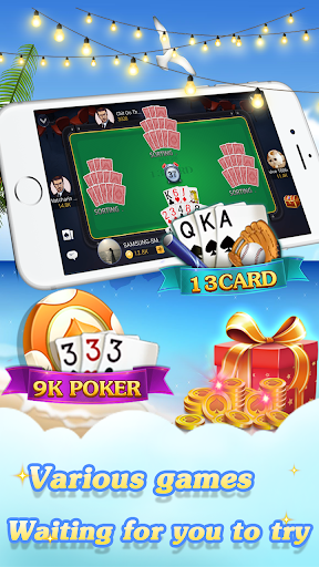 Chinese poker – Pusoy Capsa susun Free 13 poker 1.0.0.23 screenshots n 3