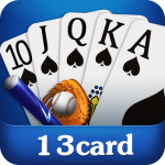 Free Download  Chinese poker – Pusoy, Capsa susun, Free 13 poker 1.0.0.23 APK