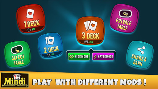 Mindi – Play With Friends – Desi Indian Card Game 8.8 screenshots n 1