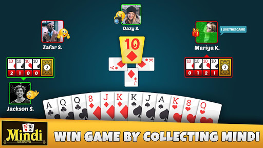 Mindi – Play With Friends – Desi Indian Card Game 8.8 screenshots n 8