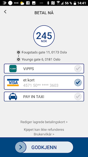 Oslo Taxi 5.0.16 screenshots n 4