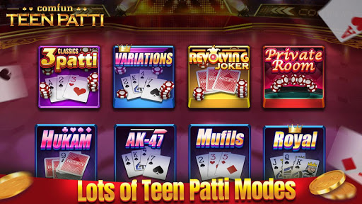 Teen Patti Comfun-3 Patti Flash Card Game Online 5.0.20200403 screenshots n 2