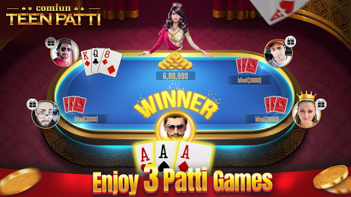 Teen Patti Comfun-3 Patti Flash Card Game Online 5.0.20200403 screenshots n 3