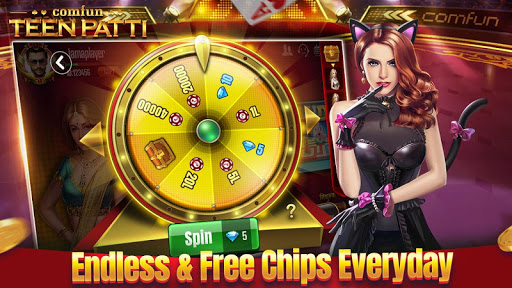 Teen Patti Comfun-3 Patti Flash Card Game Online 5.0.20200403 screenshots n 4