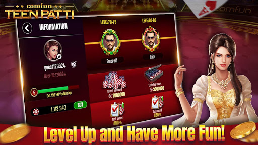 Teen Patti Comfun-3 Patti Flash Card Game Online 5.0.20200403 screenshots n 5