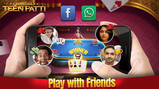 Teen Patti Comfun-3 Patti Flash Card Game Online 5.0.20200403 screenshots n 8