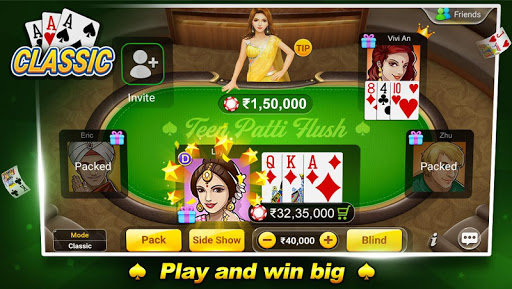 Teen Patti Flush 3 Patti Poker 1.7.4 screenshots n 1