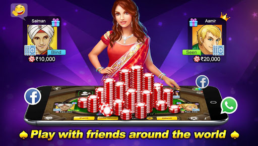 Teen Patti Flush 3 Patti Poker 1.7.4 screenshots n 7