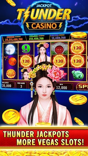 Thunder Jackpot Slots Casino – Free Slot Games 2.1 screenshots n 1