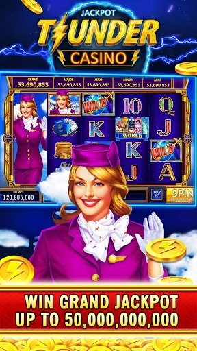 Thunder Jackpot Slots Casino – Free Slot Games 2.1 screenshots n 2