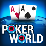 Unduh Gratis Poker World –  Be The Star In Offline Texas Holdem 1.6.50 APK