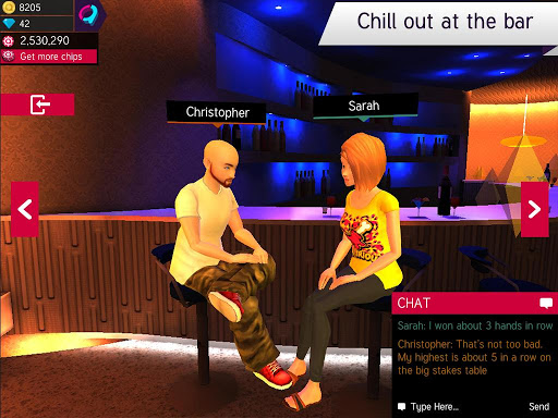 Avakin Poker – 3D Social Club 2.003.005 screenshots n 3
