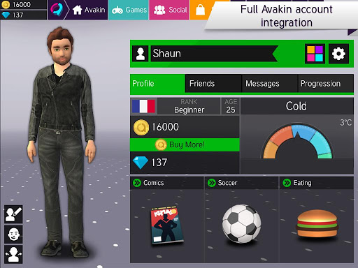 Avakin Poker – 3D Social Club 2.003.005 screenshots n 4