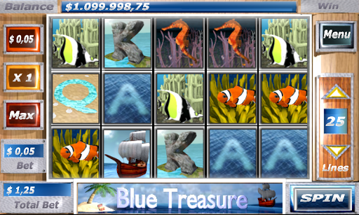 Blue Treasure Slots 1.2 screenshots n 1