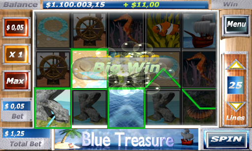 Blue Treasure Slots 1.2 screenshots n 2