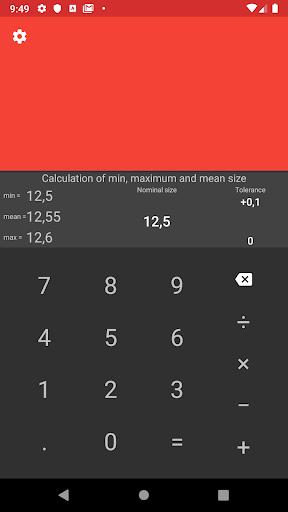 CNC calculator 2.1 screenshots n 4