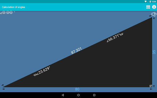 Calculation of angles 1.0 screenshots n 4