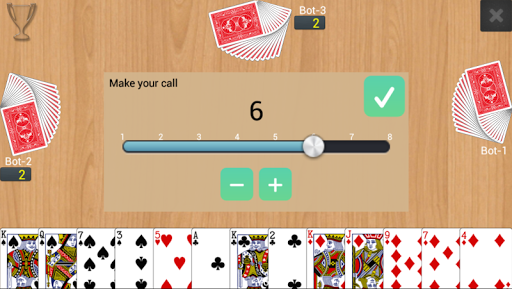 Callbreak Multiplayer 0.2.16 screenshots n 1