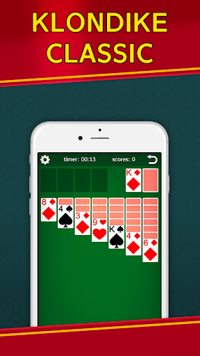 Classic Solitaire Klondike – No Ads Totally Free 2.00 screenshots n 1