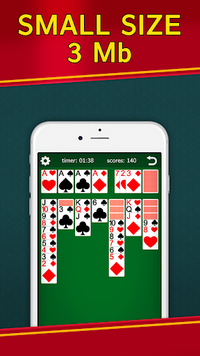 Classic Solitaire Klondike – No Ads Totally Free 2.00 screenshots n 2