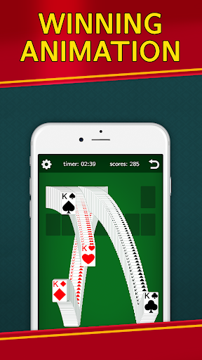 Classic Solitaire Klondike – No Ads Totally Free 2.00 screenshots n 4