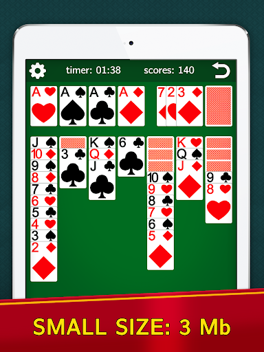 Classic Solitaire Klondike – No Ads Totally Free 2.00 screenshots n 6