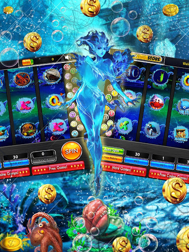 Deep Blue Sea Monster Slots 2.2 screenshots n 3