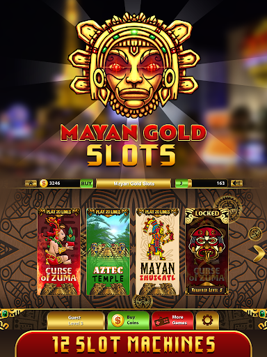 Mayan Gold Mask Free Pokies 1.0 screenshots n 6