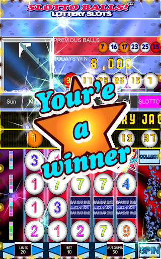Slotto Balls Lottery Fruit Machine 7004 screenshots n 10