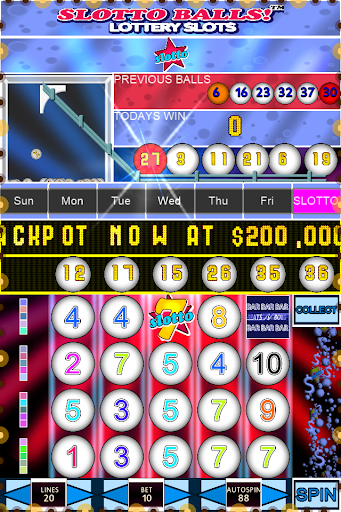 Slotto Balls Lottery Fruit Machine 7004 screenshots n 2