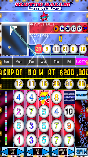 Slotto Balls Lottery Fruit Machine 7004 screenshots n 7