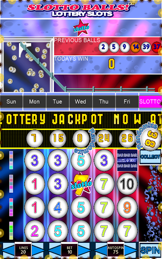 Slotto Balls Lottery Fruit Machine 7004 screenshots n 8