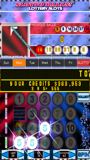 Slotto Balls Lottery Fruit Machine 7004 screenshots n 9