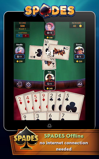 Spades – Offline Free Card Games 2.0.3 screenshots n 10