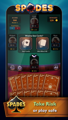 Spades – Offline Free Card Games 2.0.3 screenshots n 2