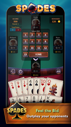 Spades – Offline Free Card Games 2.0.3 screenshots n 3