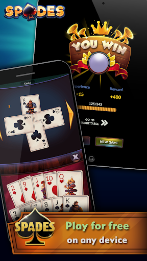 Spades – Offline Free Card Games 2.0.3 screenshots n 4