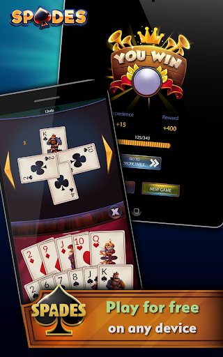 Spades – Offline Free Card Games 2.0.3 screenshots n 9