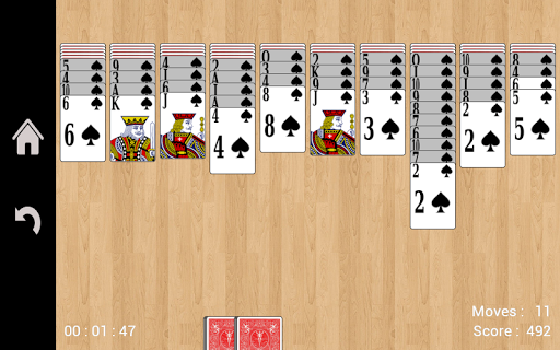 Spider Solitaire 1.16 screenshots n 9