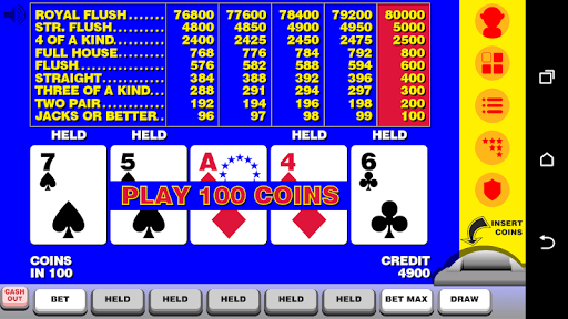 Video Poker with Double Up 12.092 screenshots n 1