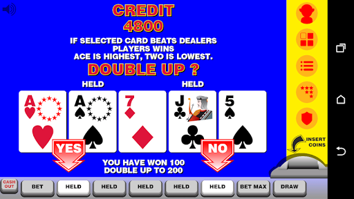 Video Poker with Double Up 12.092 screenshots n 2