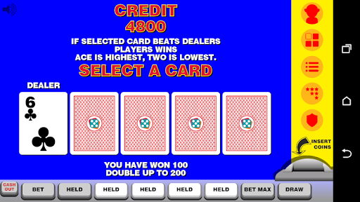 Video Poker with Double Up 12.092 screenshots n 3