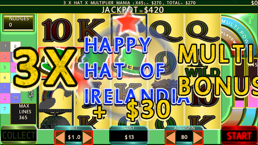 Paddy Punt 365 Line Irish Slots 7004 screenshots n 4