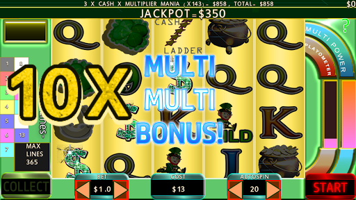 Paddy Punt 365 Line Irish Slots 7004 screenshots n 5