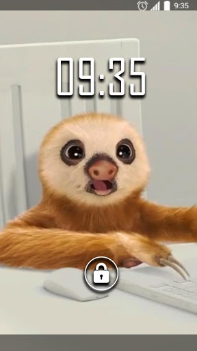 Sloth Office Live Wallpaper 2.0 screenshots n 1