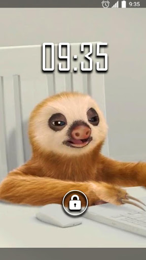 Sloth Office Live Wallpaper 2.0 screenshots n 2