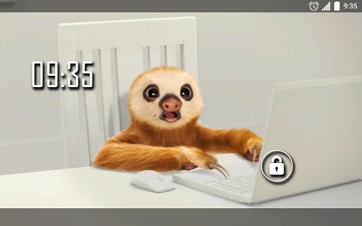 Sloth Office Live Wallpaper 2.0 screenshots n 4